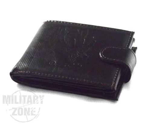 7990a5774e550 Skórzany portfel myśliwski zapinany - Koyan - Brązowy - - Sklepik ...
