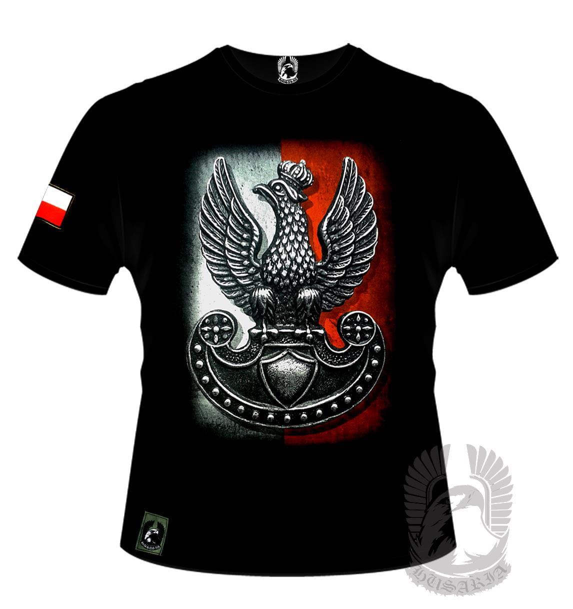 a99545eae16e Koszulka patriotyczna - Orzeł Legionów (Husaria) - - Sklepik ...